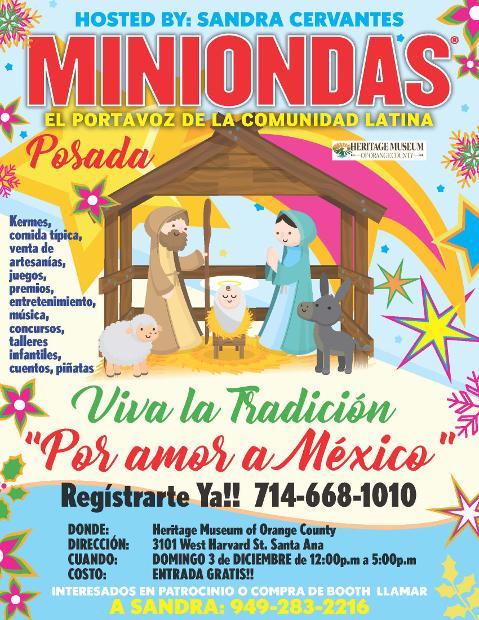 """Posada """"Por Amor a México"""""""