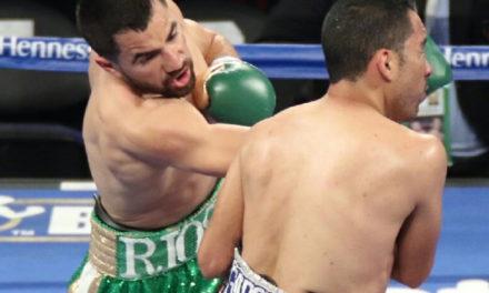 Ronny Ríos cae con honor ante Rey Vargas en pelea por título mundial