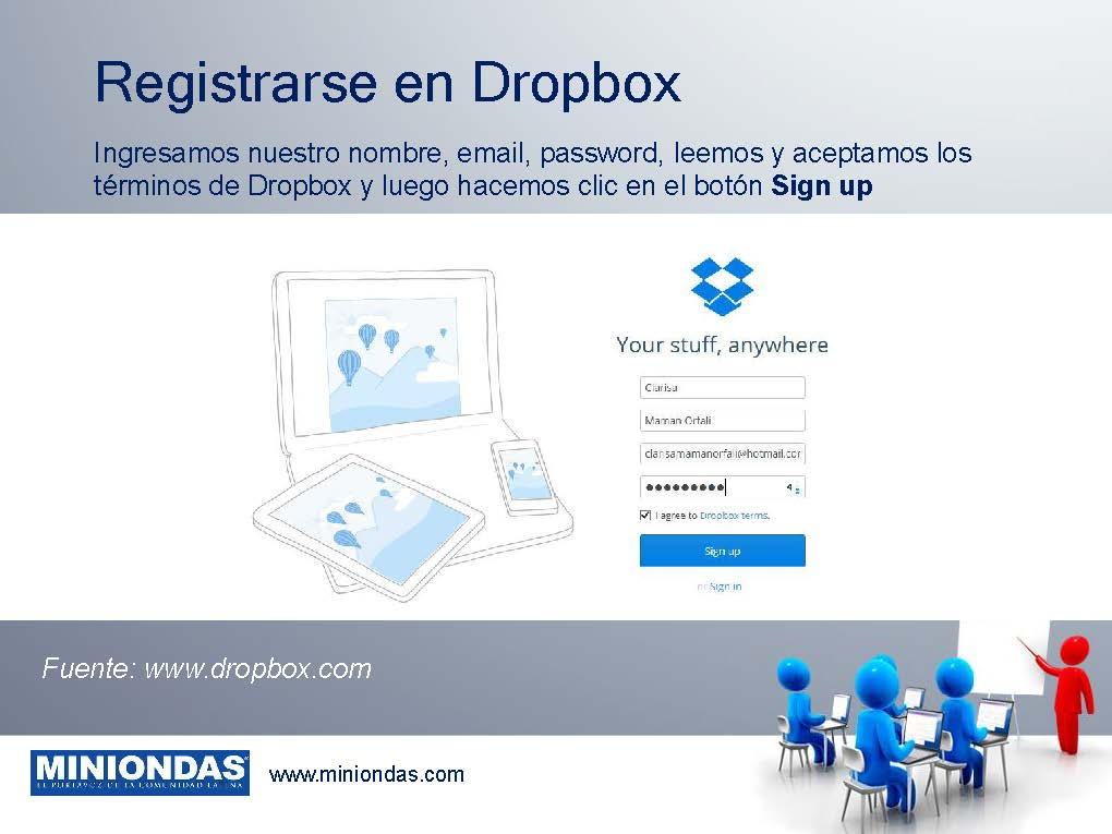 Qué es y cómo se usa DropBox