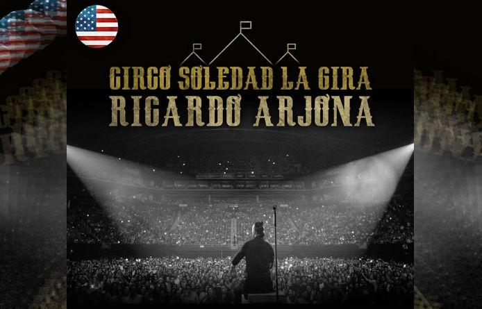 Ricardo Arjona comienza hoy la parte estadounidense de su gira 'Circo Soledad'