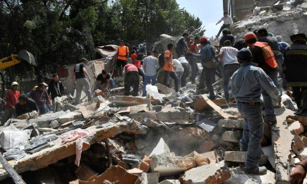 Poderoso terremoto de 7.1 provoca destrozos en la Ciudad de México