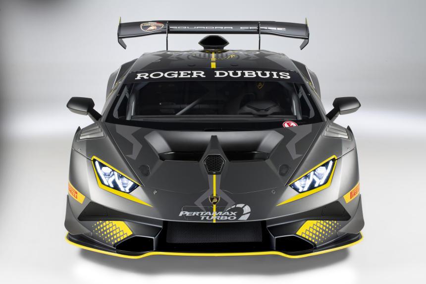 Fotos del Lamborghini Huracán Super Trofeo EVO