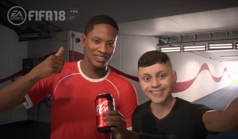 Coca-Cola Anuncia Contenido de Marca Primero dentro de EA SPORTS FIFA 18