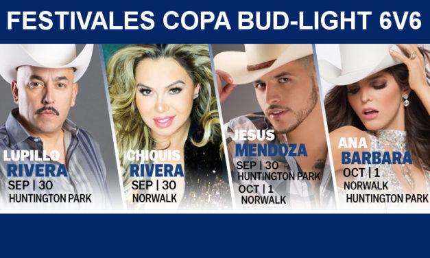 Festivales Copa Bud-Light 6v6