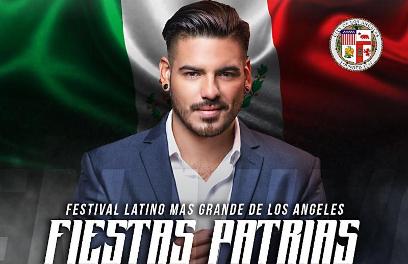 David Alfaro se presentará en Fiestas Patrias, el Festival Latino más grande de los Angeles