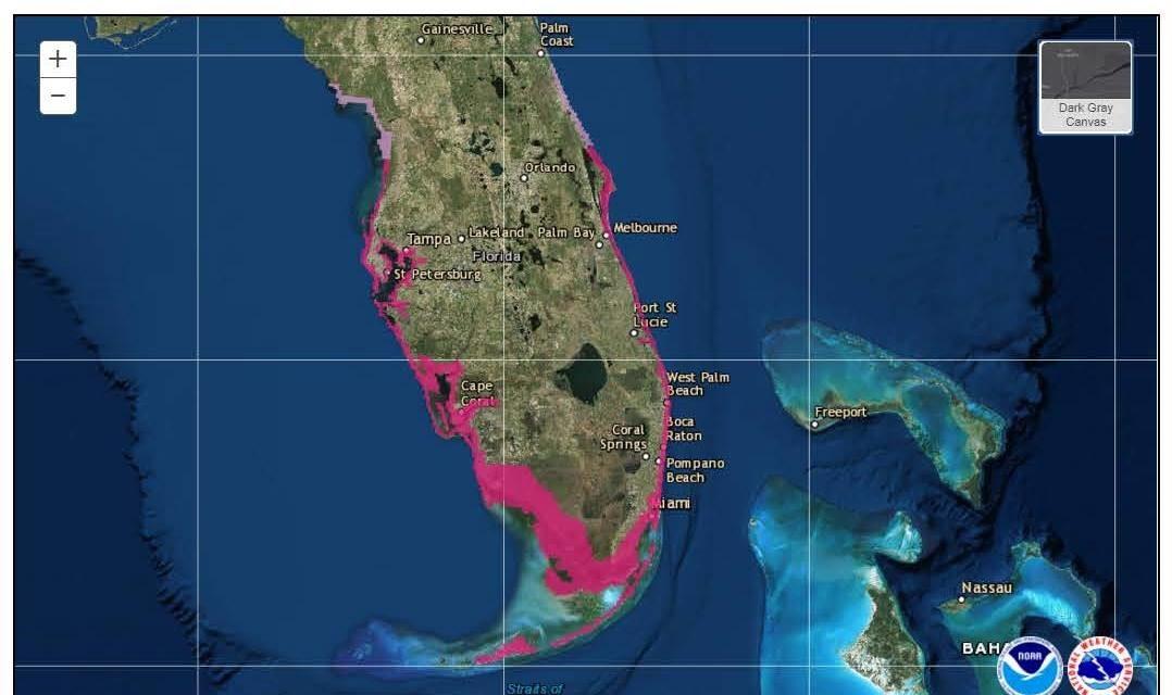 El ojo del huracán Irma golpeará el suroeste de Florida y Tampa, según nuevo pronóstico