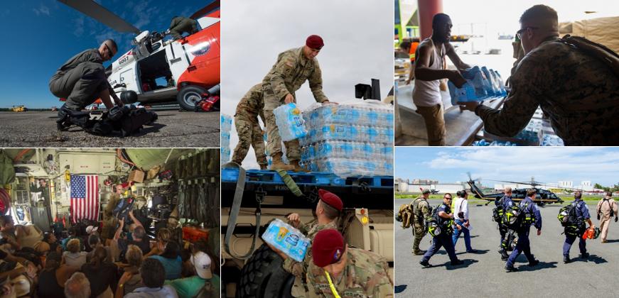 Docenas de Agencias Federales Apoyan los Esfuerzos de Respuesta al Huracán Irma
