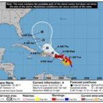 El huracán María avanza hacia Puerto Rico con vientos de 260 kilómetros por hora