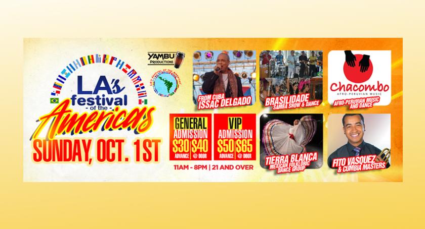 MIniondas te regala 6 entradas para el Festival de «Las Américas» en L.A.