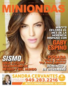 Miniondas Newspaper Edición Octubre 2017