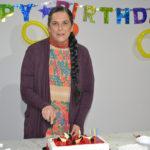 Cecilia Toussaint festejó su cumpleaños  con la producción de Sin tu mirada