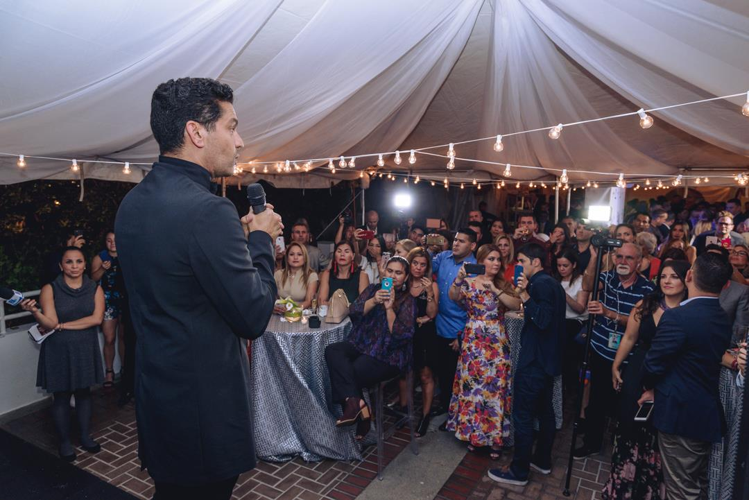 Ismael Cala celebró sus 40 años de carrera con la presentación de la agencia Cala Speakers