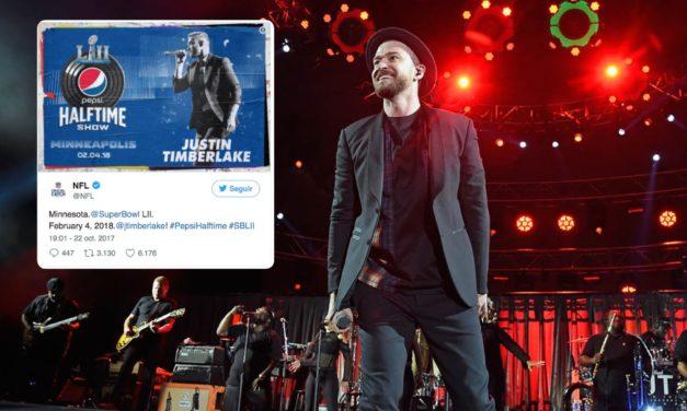 Confirmado, Justin Timberlake regresa al Super Bowl