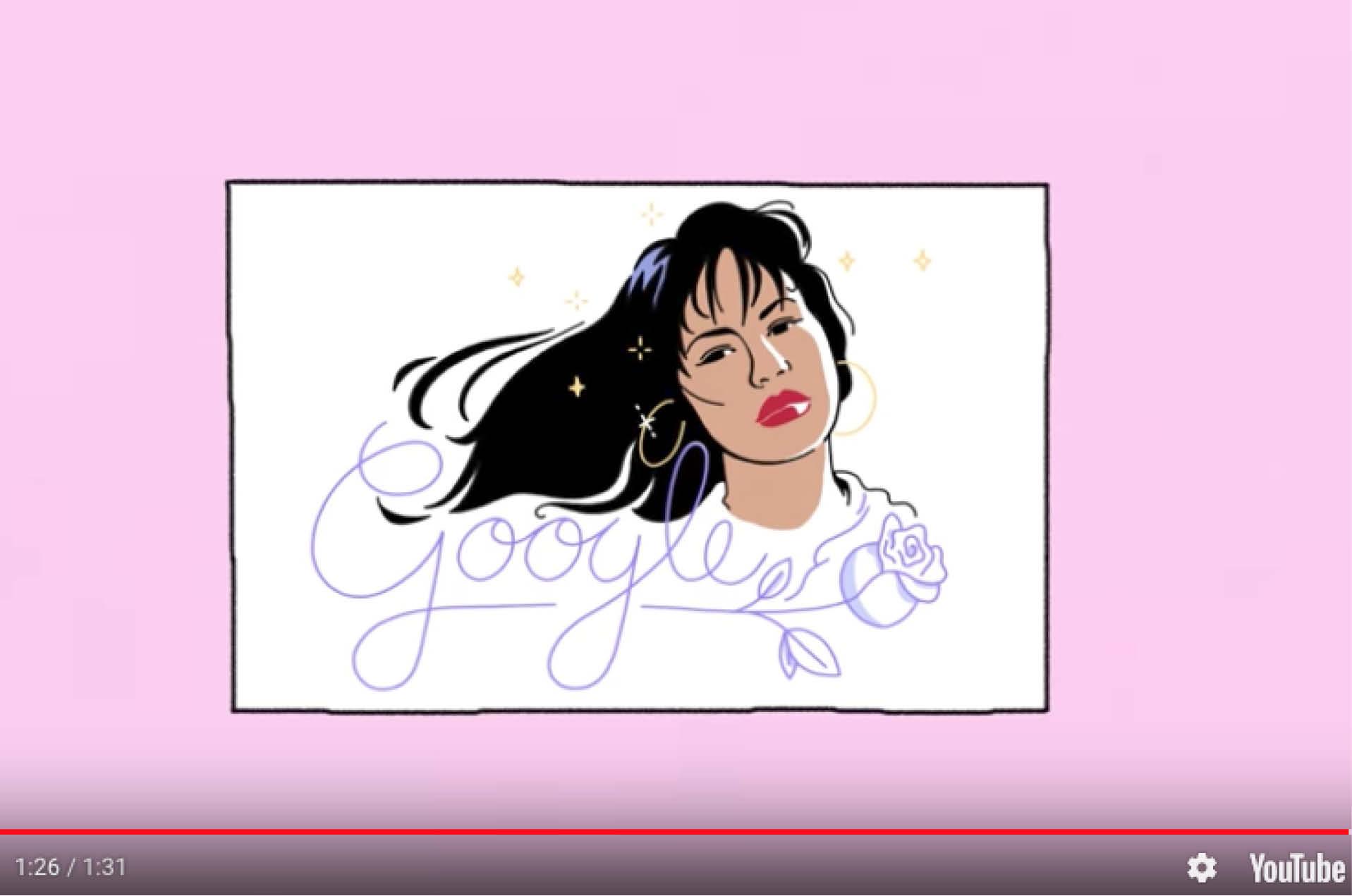 Google recuerda a Selena