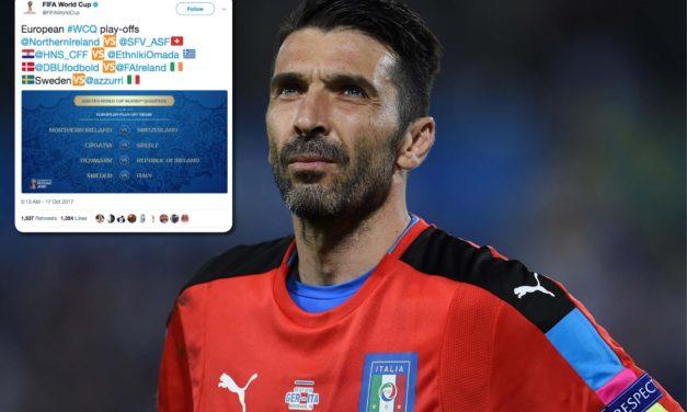 UEFA anuncia encuentros de repechaje para el Mundial de Rusia 2018