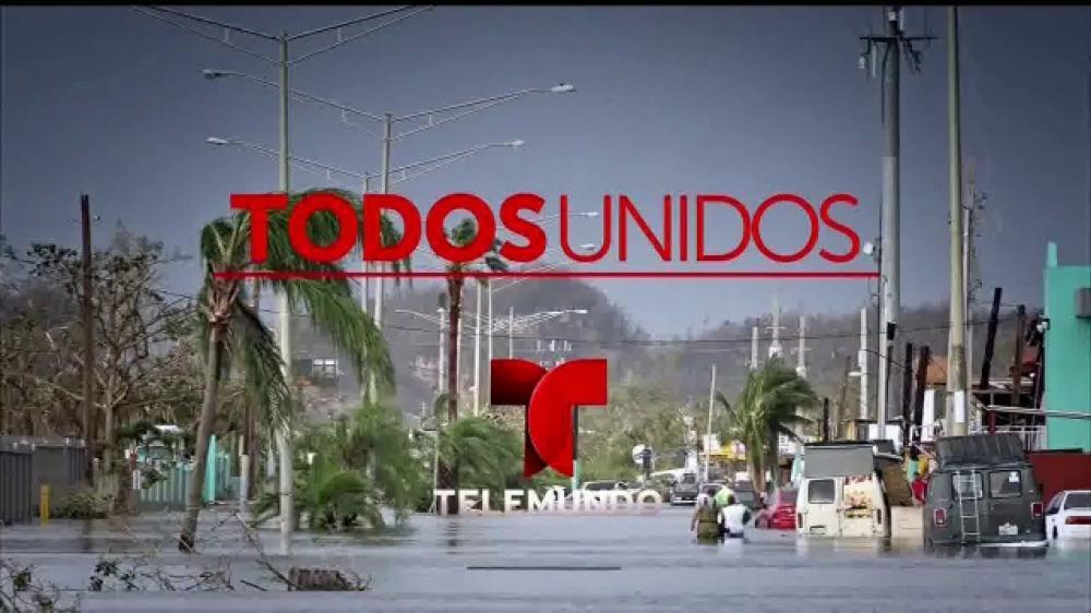 «Todos Unidos» de Telemundo y los esfuerzos de socorro entre empresas aumentan a más de $ 12,9 millones para los desastres naturales de México, Puerto Rico, Texas y Florida
