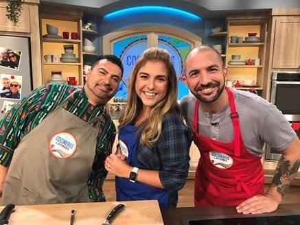 """""""Despierta América"""" de Univisón estrena segmento culinario """"Cocineros Latinos"""""""