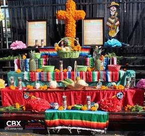 Cross Border Xpress y Anaheim Marketplace Exhibirán  Ofrendas del Día de los Muertos y Regalarán Viaje a México
