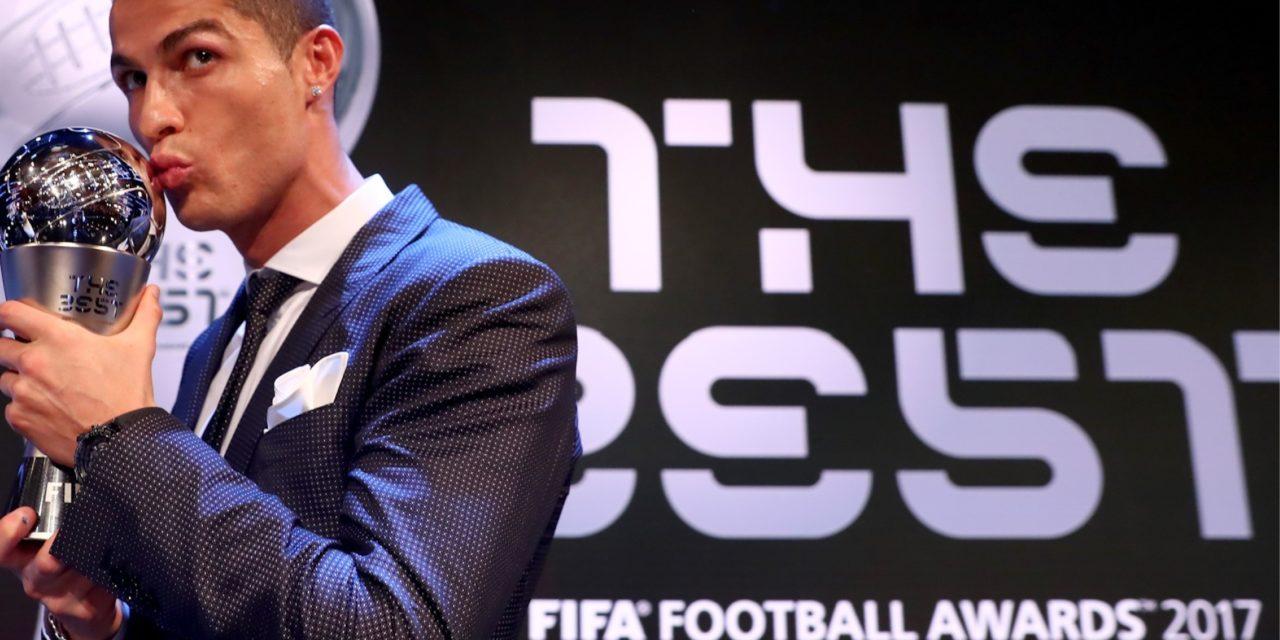 Ronaldo, el mejor jugador del mundo por segundo año consecutivo