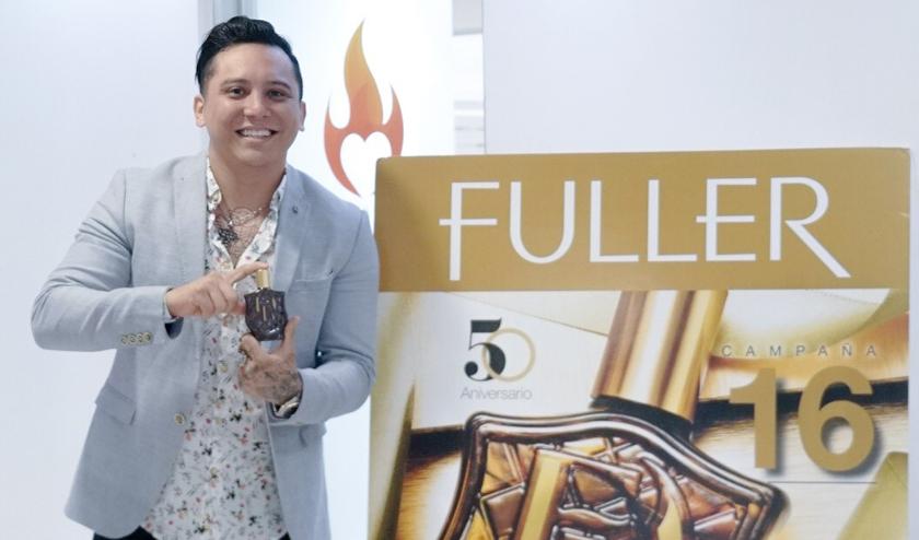 Edwin Luna tendrá su propia fragancia con la marca Fuller