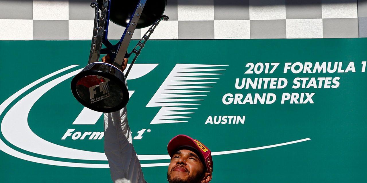 Hamilton se consagra en Austin y acaricia su cuarto título