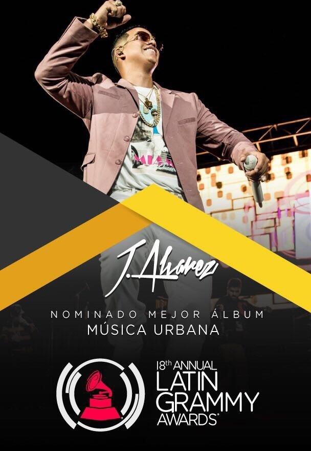 J. Alvarez nominado al Latin Grammy con el album «Big Yauran»