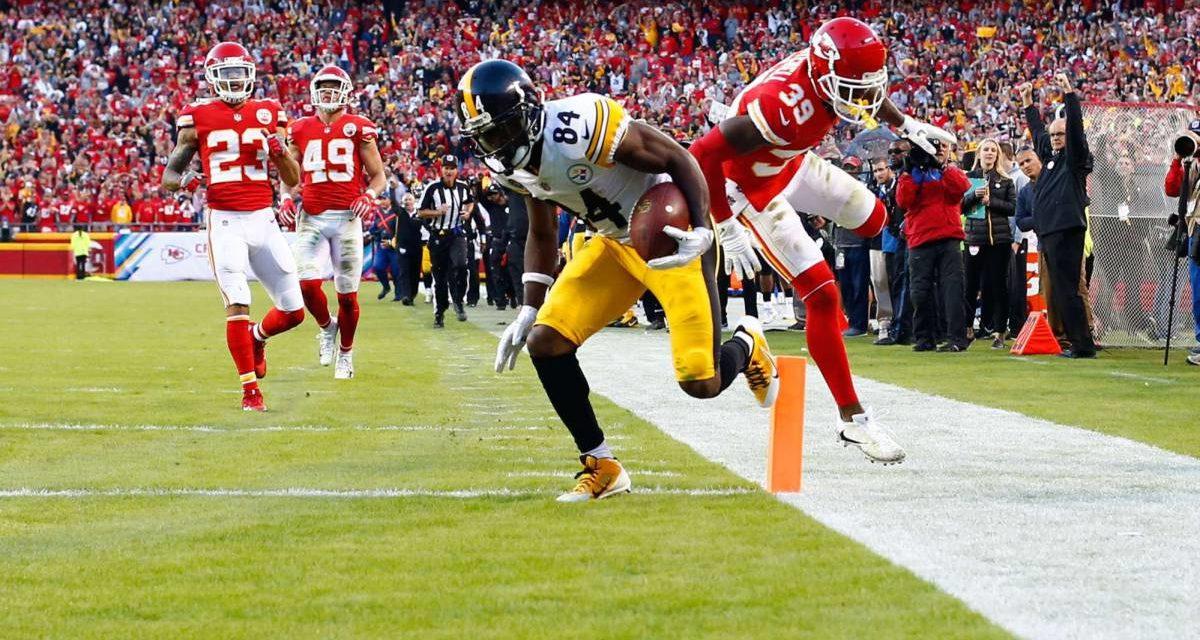 Adiós invicto; Steelers sorprende a Kansas