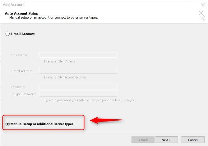 Como configurar Outlook para enviar y recibir mensajes de correo electrónico de una cuenta de email no gratuita