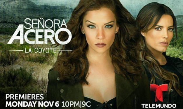 La sangre y la venganza persiguen a Vicenta Acero en la nueva temporada de «Señora Acero, la Coyote» que estrena el 6 de noviembre alas 10PM/9C