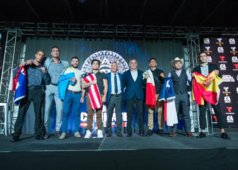 """Telemundo Deportes y Combate Américas anuncian histórica transmisión en vivo del torneo """"Copa Combate"""" de MMA el 11 de Noviembre en Cancún, México"""