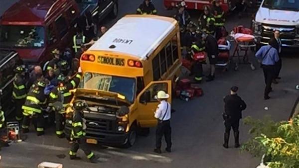 Al menos ocho muertos y 15 heridos tras un atropello en Nueva York