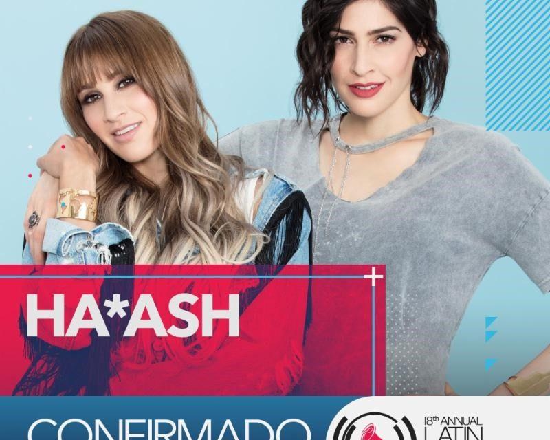 Ha*Ash gana premio Telehit: Tour del Año y el dueto está listo para los Latin Grammy