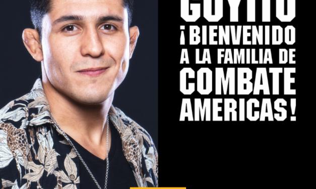 Combate Américas anuncia la firma del peleador mexicano Erik «Goyito» Pérez