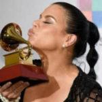 Olga Tañón ganadora de su sexto Gramófono