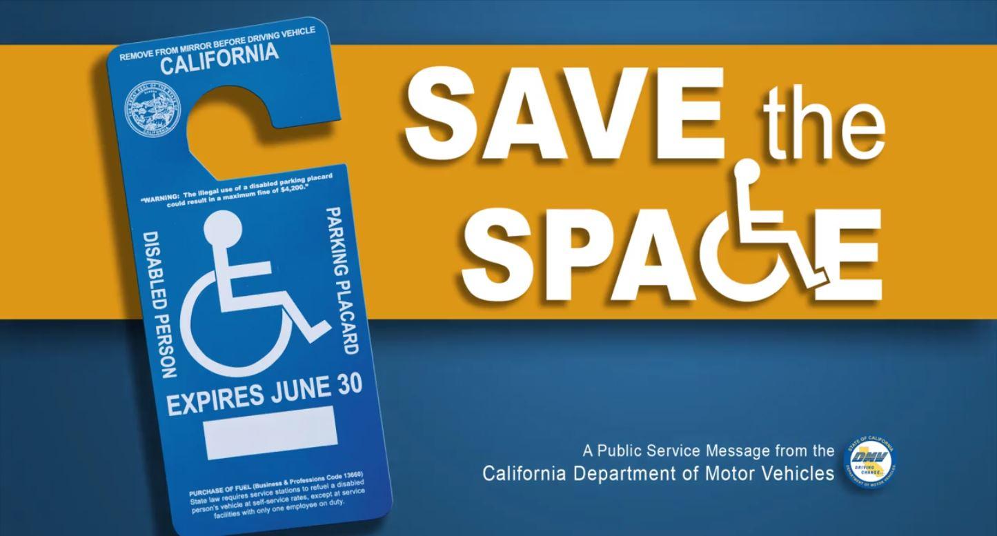 135 personas multadas por abuso de carteles de estacionamiento para personas discapacitadas El DMV emite estadísticas del mes de octubre sobre los esfuerzos para combatir el abuso