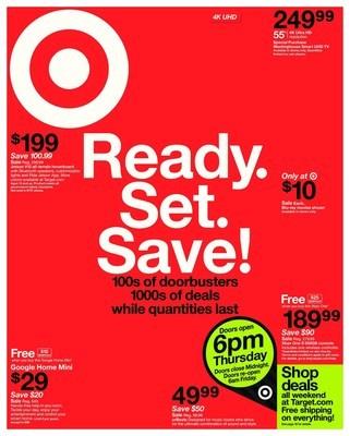Target revela los grandes descuentos para Black Friday