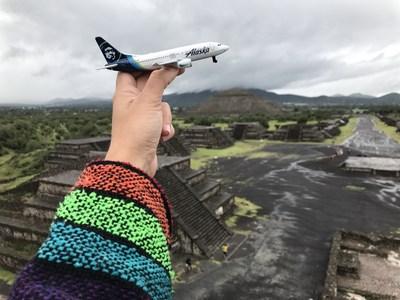 Alaska Airlines comienza a operar un servicio sin escalas entre San Diego y la Ciudad de México