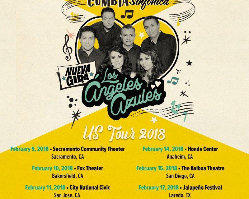 Los Ángeles Azules anuncian las primeras fechas de su gira 2018 por Estados Unidos