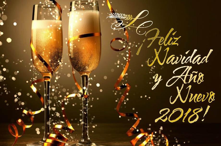 ¡Feliz Navidad y Año Nuevo 2018!