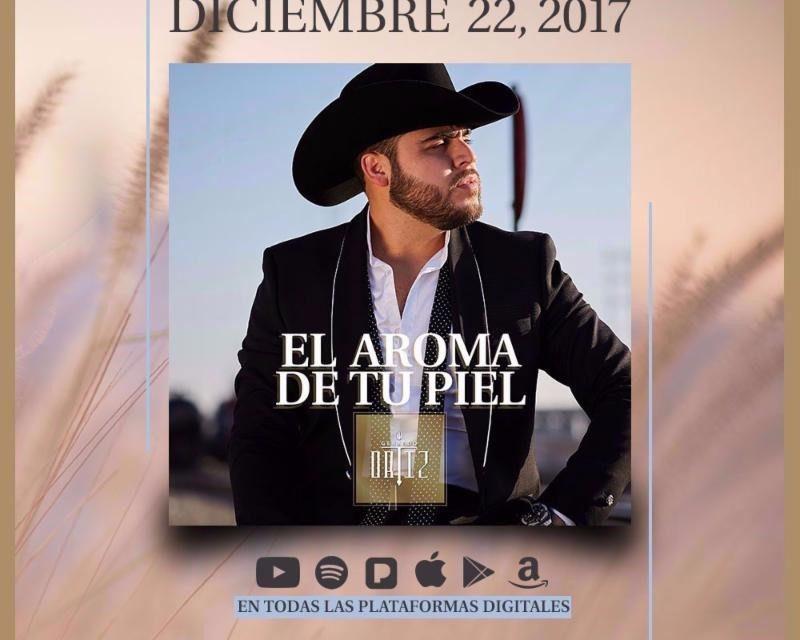 Gerardo Ortiz estrena su nuevo sencillo «El Aroma de tu Piel»
