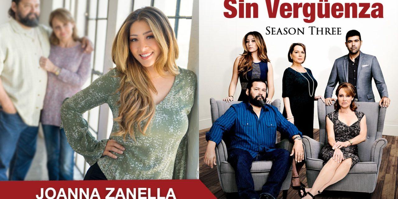Actriz y Presentadora de Deportes Joanna Zanella, deslumbra con el papel de «Christina Salazar» en la tercera y última temporada de la galardonada serie web Sin Vergüenza