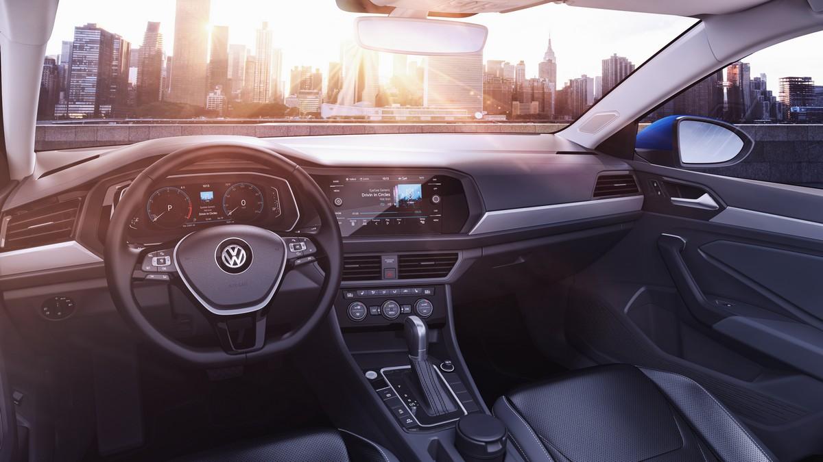 El nuevo Volkswagen Jetta 2019 hace su debut en el Salón Internacional del Automóvil de Norteamérica