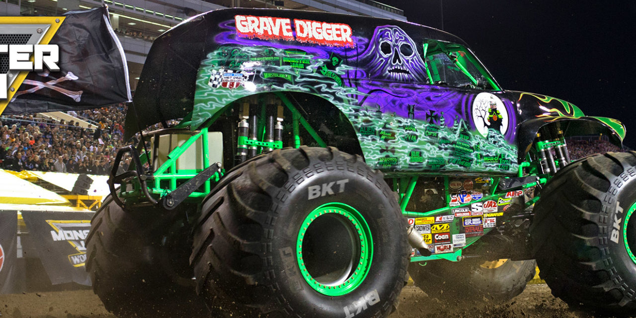 Monster Jam® Returns to the Angel Stadium of Anaheim