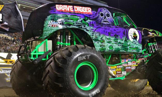 Monster Jam® Returns to the Angel Stadium of Anaheim