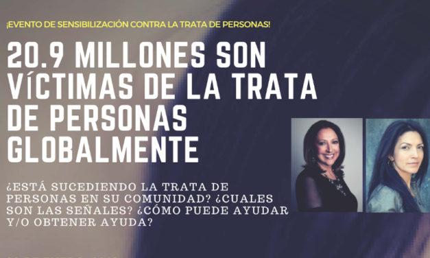 La reconocida psicóloga y la activista internacional y sobreviviente  se unen para combatir el tráfico humano