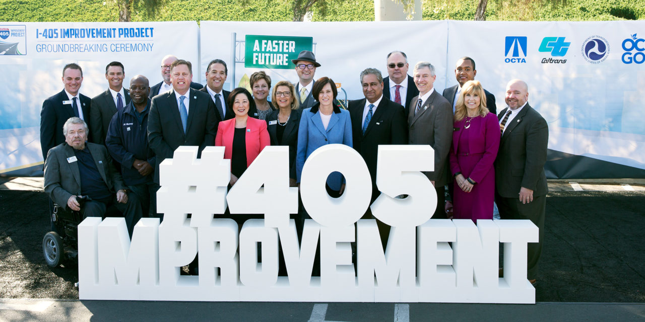 $1.9 Billion I-405 Expansion in Orange County Kicks Off