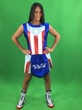 Combate Américas Firma a La Primera Boxeadora  Campeona Mundial De Cinco Divisiones Amanda Serrano