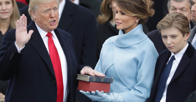Presidente Trump: su primer año en imágenes