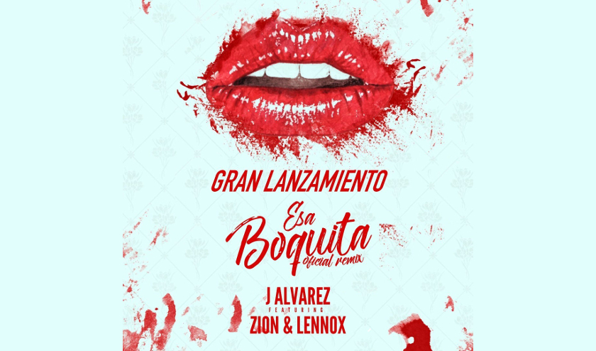 J. Álvarez se une a Zion y Lennox para el remix de «Esa Boquita»