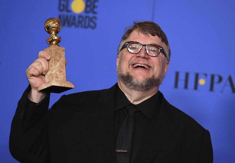 El mexicano Guillermo del Toro ganó como Mejor Director en la edición 75 de los Globo de Oro